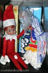 Marshmallow muncher