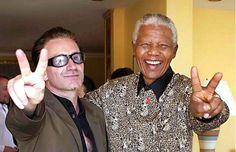 Día de Nelson Mandela: recordemos su influencia en U2 y en Bono