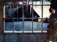 Snowy Wooden Window by Kozorog on @creativemarket