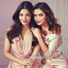 Bollywood actress Aishwary Rai Bachchan with Deepika padukone Beautiful Bollywood Actress, Most Beautiful Indian Actress, Beautiful Actresses, Bollywood Stars, Bollywood Fashion, Indian Bollywood, Actress Aishwarya Rai, Aishwarya Rai Bachchan, Deepika Padukone Makeup