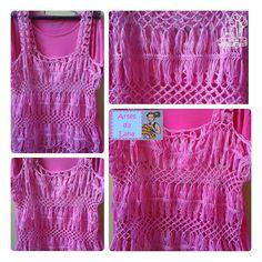 artesdalana18:: Mais detalhes da blusa de crochê de grampo rosa pink! #craft #artesanato #crochedegrampo #crochet #sessaodefotos #blusaemcroche #rosapink #criacoes #novomodelo #rosachiclete #modacroche #ganchillo #croche #hairpinlace #photoshoot #crochettop #pinkrose #creations #newpattern #candypink #fofura #crochetfashion #artesdalana #linhaclara #semprecirculo