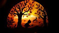 Nice tree silhouette