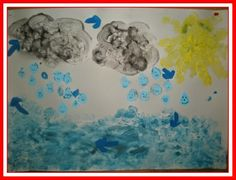 Η ζωή στο Νηπιαγωγείο!: Ο Κύκλος του Νερού Create, Water, Blog, Painting, Gripe Water, Painting Art, Blogging, Paintings, Painted Canvas