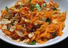 A Glug of Oil: Carrot Salad from Jamie's 30 Minute Meals