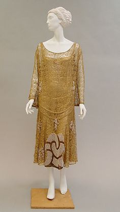 Paul Poiret  (French, Paris 1879–1944 Paris)    Date:      ca. 1925  Culture:      French  Medium:      metallic, simulated pearls