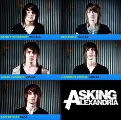 Asking Alexandria when they were babies