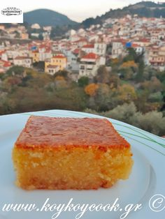 Party Desserts, Greek Recipes, Cornbread, Ethnic Recipes, Sweet, Food, Sweets, Millet Bread, Candy