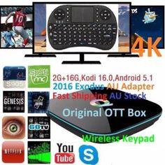 Q-Box 2016 Exodus 4K Android 6 2G 2G 16G Kodi16+W'less Keypad   Other Computers & Software   Gumtree Australia Manningham Area - Doncaster   1118027997