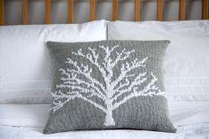 Moontree Pillow Knitting pattern by IamSnowfox | Knitting Patterns | LoveKnitting