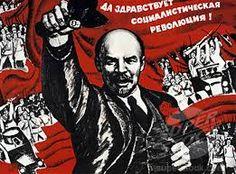 Lenin Long Live Revolution, 1966 - original vintage Soviet propaganda poster by… Communism, Socialism, February Revolution, Bolshevik Revolution, Vladimir Lenin, Civil War Art, The Bolsheviks, Historia Universal, Russian Revolution