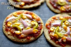 Millet Crust Pizza | Healthy Gluten Free Veggie Pizza | Cooking From Heart Indian Food Recipes, New Recipes, Vegan Recipes, Cooking Recipes, Pizza Recipes, Recipies, Vegetarian Pizza, Veggie Pizza, Pizza