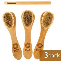 Bath Alert Long Handle Body Brush 3 In 1 Foldable Bath Brush Soft Hair Bath Brush Lotion Applicator Care Skin Bath Massage Brushes Back To Search Resultsbeauty & Health