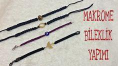 Makrome Bileklik Yapımı   DIY Bracelet