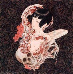 Arte Horror, Horror Art, Dark Fantasy, Ero Guro, Art Chinois, Japanese Horror, Drawn Art, Art Asiatique, Japon Illustration
