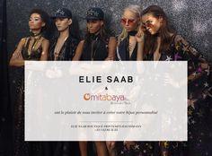 Invitation personnelle  — C'est aujourdh'ui à l'occasion de la Fashion week-end qu' Agnès vous attend au #printempshaussman sur le stand  #ElieSaab pour vous offrir un bracelet en silicone #partenariat