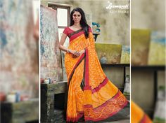 Looking for Bee yellow colour georgette digital floral printed sarees in India? #Laxmipati sarees is your one stop shop for all kinds of designer Sarees. #Catalogues - #SONPARI Price - Rs.1069.00 Visit for more designs@ www.laxmipati.com #ReadyToWear #OccasionWear #Ethnicwear #FestivalSarees #RakshaBandhan #Fashion #Fashionista #Couture #SONPARI0816 #LaxmipatiSaree #autumn #winter #women #her #she #mystery #lingerie #black #lif Laxmipati Sarees, Georgette Sarees, Catalog Online, Saree Shopping, Printed Sarees, Designer Sarees, Buy Prints, Office Wear, Daily Wear