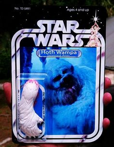 Custom Star Wars action figures by TD 5491 Phenix Customs - Hoth Wampa Arm Star Wars Figurines, Star Wars Toys, Star Wars Pictures, Star Wars Images, Star Wars Action Figures, Custom Action Figures, Rey Star Wars, Star Wars Art, Figuras Star Wars