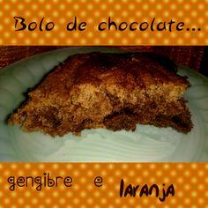 Os petiscos da Gracinha: Bolo de chocolate a dois tons!