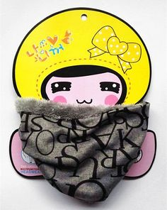 2016 Warm Baby Scarf Cotton+Velvet Child Scarf For Children infinity Scarf cashmere Neckerchief Mixed Color Kid Neck Ring Scarf