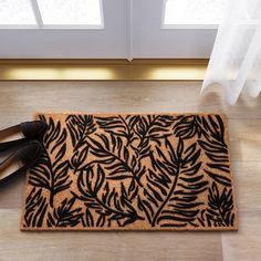 "Black Leaf Doormat 1'6""X2'6"" - Project 62™ : Target"