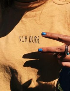 Suh Dude yellow t shirt Surfergirl Style, Summer Aesthetic, Looks Vintage, Mellow Yellow, Yellow Black, Passion For Fashion, Style Me, Logo Style, Cute Outfits