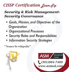 CISSP Certification Traning / Exam Tip - Security & Risk Management. Computer Technology, Computer Science, Exams Tips, Risk Management, It Network, Information Technology, Training Tips, Certificate, Emoji
