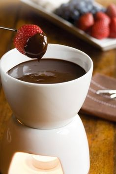 Haighs Chocolates – Chocolate Fondue