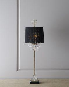"""Christella"" Buffet Lamp at Neiman Marcus."