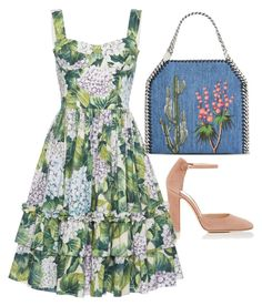 Arizona by carolineas on Polyvore featuring polyvore, fashion, style, Dolce&Gabbana, Gianvito Rossi, STELLA McCARTNEY and clothing