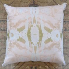 Lindsay Cowles Pillows at SummerHouse // www.alwayssummerblog.com