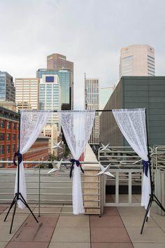 Rooftop Wedding Venues: Hyatt Regency Denver, CO