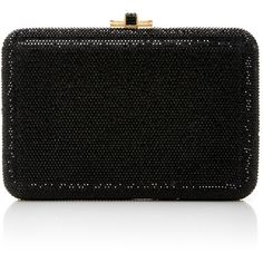 Judith Leiber Couture     Embellished Rectangle Clutch (127.690 RUB) ❤ liked on Polyvore featuring bags, handbags, clutches, black, judith leiber, beaded clutches, beaded handbags, judith leiber handbags and judith leiber clutches