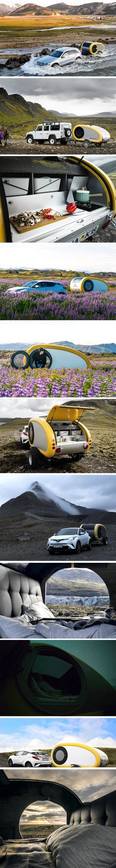 Mink Campers is a funky company providing these little pods that could make any trip through Northern Europe that little bit more idyllic. They've created a very spacious and bright interior, fitted with a luxury queen size bed and fresh Scandinavian linen. It sounds perfect, right? How about the heated interior, the Bose sound and the wifi connectivity are some of the nice extras that come standard. RENT NOW!