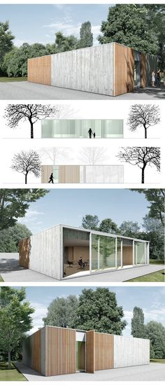 #oficina #atelier #office #modular #prefab #industrializased por Berger Röcker architects
