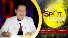 Watch another episode of Pastor Apollo C. Quiboloy's newest program, SPOTLIGHT. For your messages and queries, you can comment it down below so our Beloved P. Disciple Me, Kingdom Of Heaven, T Lights, New Program, January 11, Son Of God, Apollo, Blessings, Spotlight