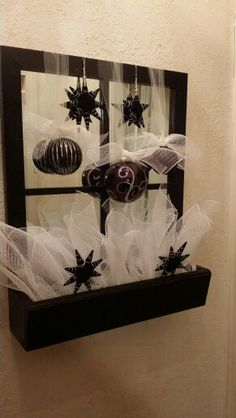 15 min decor for the holidays ...cost under $20.