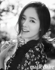 Han Ga In is a perfect goddess in 'Marie Claire' | allkpop.com