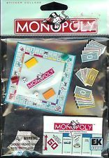 MONOPOLY BOARD GAME Jolee's Scrapbooking 3D  Sticker BRAND New EK Success