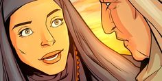 Ruth Displays Loyal Love to Naomi | Illustrated Bible Story