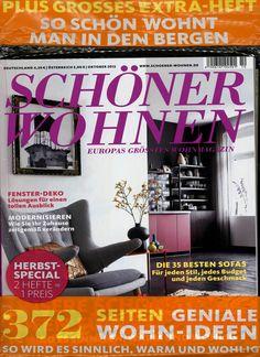 SCHÖNER WOHNEN Heft 10/2012