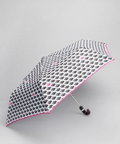 Black & Pink Shoes Umbrella from AccessoWear Rainwear on #zulily