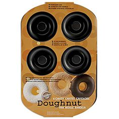 @Overstock - Bake delicious doughnuts right at home with the help of this 6-cavity pan. This pan is non-stick and dishwasher safe so clean up is easy.http://www.overstock.com/Crafts-Sewing/Wilton-6-cavity-Doughnut-Pan/5747834/product.html?CID=214117 $11.69
