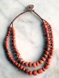 Coral Necklace by elise