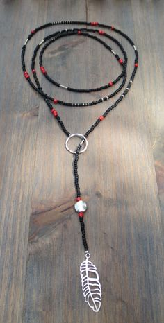 """Lariat 'Black with a splash of red' 50-52"""""""
