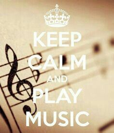 KEEP CALM and PLAY MUSIC. Another original poster design created with the Keep Calm-o-matic. Buy this design or create your own original Keep Calm design now. Sound Of Music, Music Is Life, My Music, House Music, Rock Music, Music Quotes, Music Lyrics, Music Sayings, Piano Quotes