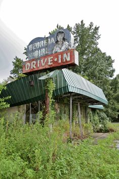 Georgia Girl drive-in, US17, Woodbine, Ga.