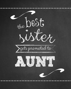 The Best Sister Gets Promoted to Aunt Wine by VintageLeeCrafted