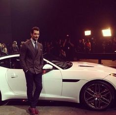 .David Gandy at the New Jaguar F TYPE Coupe Launch | November 19, 2013