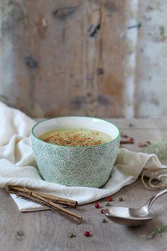 Sopa fresca de melón y especias. Receta.