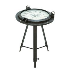 I pinned this Porthole End Table from the John Mulliken event at Joss and Main!